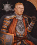 Commission - Dwarf-Cleric of Pelor