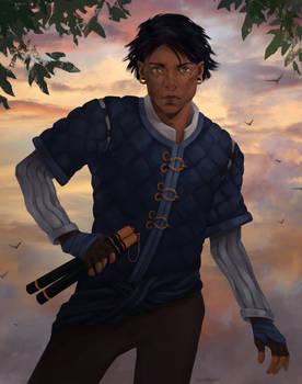 Commission - Monk Assassin