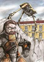 Gordon and Strider by Tadeu-Costa