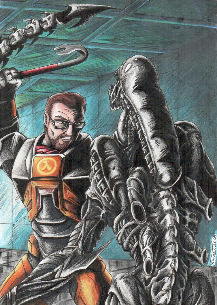 Gordon vs Alien by Tadeu-Costa