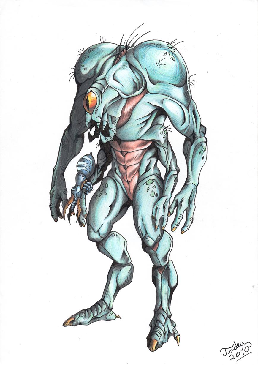 Half-Life: Opposing Force - Shock Trooper by Tadeu-Costa