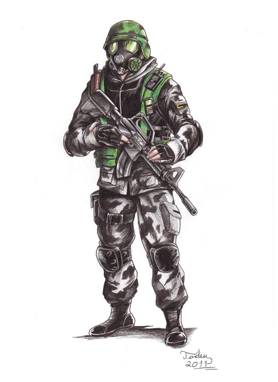 HECU Soldier by Tadeu-Costa