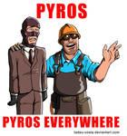Team Fortress 2 - Pyros, Pyros Everywhere