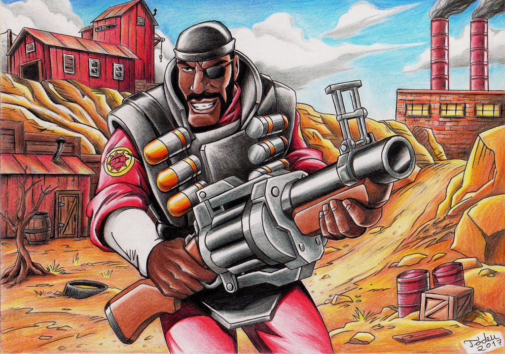 Team fortress 2 demoman by tadeu costa on deviantart for Team fortress 2 coloring pages