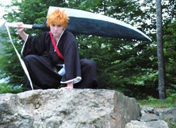 Ichigo shot 4 by BleachcakeCosplay