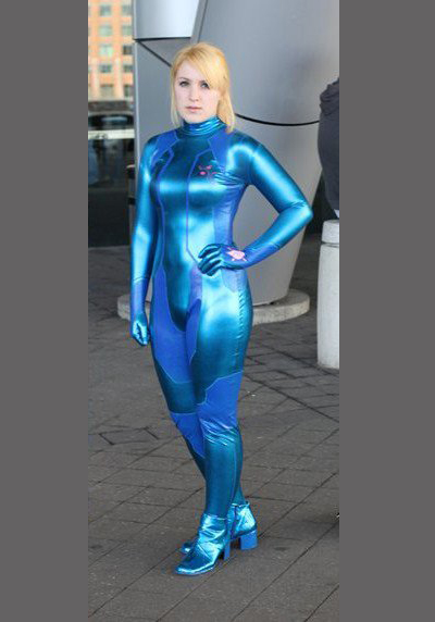 Other M Samus cosplay2 by BleachcakeCosplay