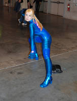 Other M Samus cosplay3 by BleachcakeCosplay