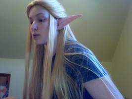 OoT Zelda Wig WIP by BleachcakeCosplay