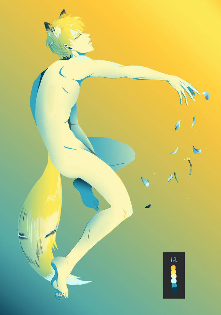 fox!Kise Palette Challenge by BleachcakeCosplay