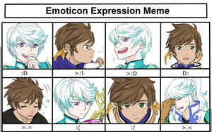 SorMik Expression Meme by BleachcakeCosplay