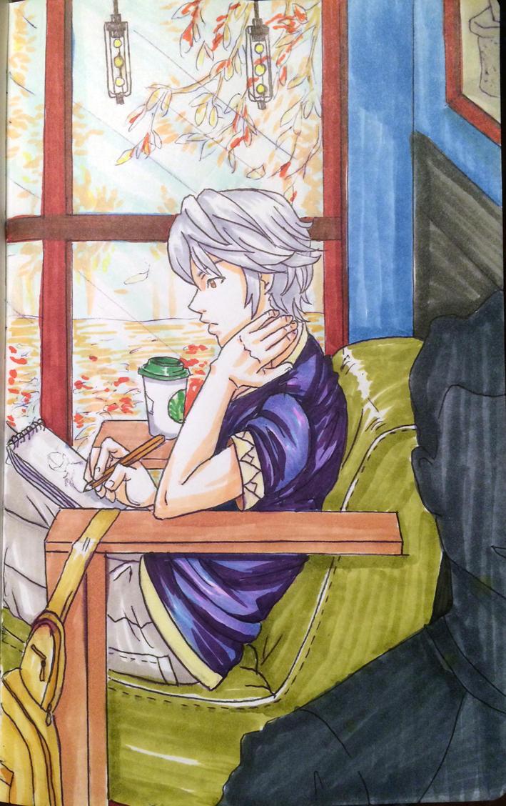 Inktober: Sketch Bird by BleachcakeCosplay