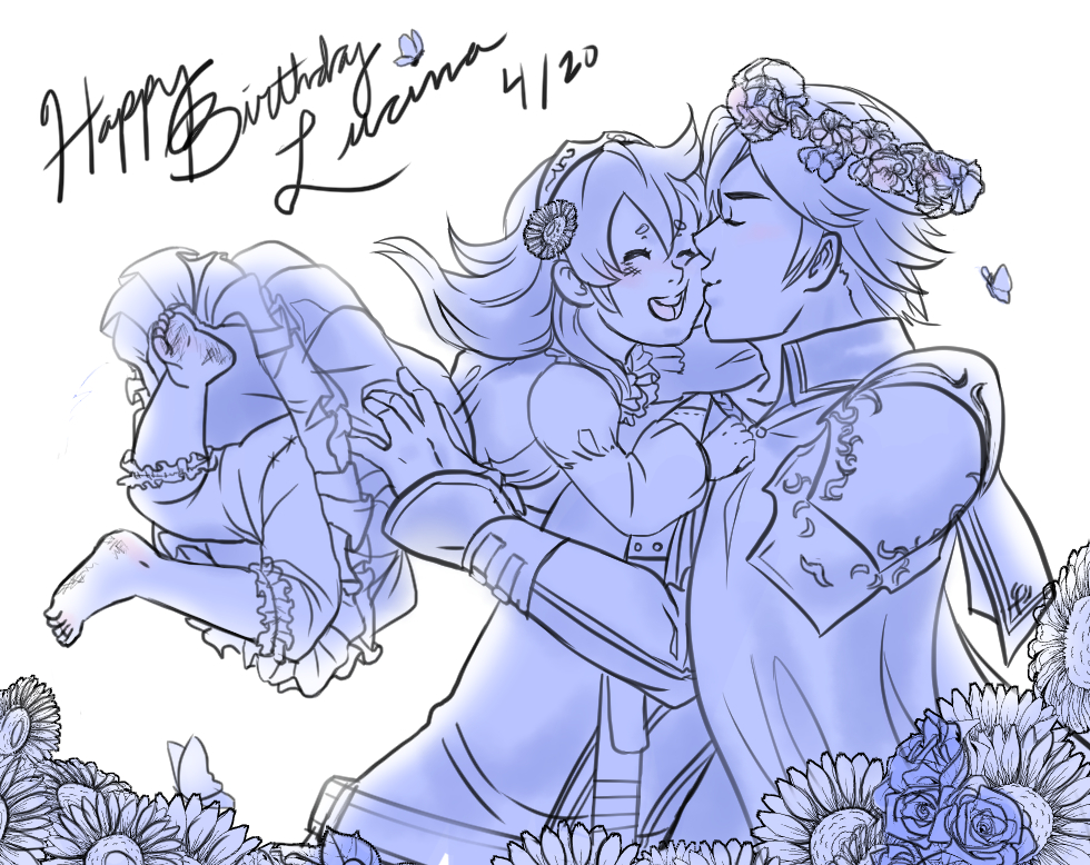 Happy Birthday, Lucina! by BleachcakeCosplay