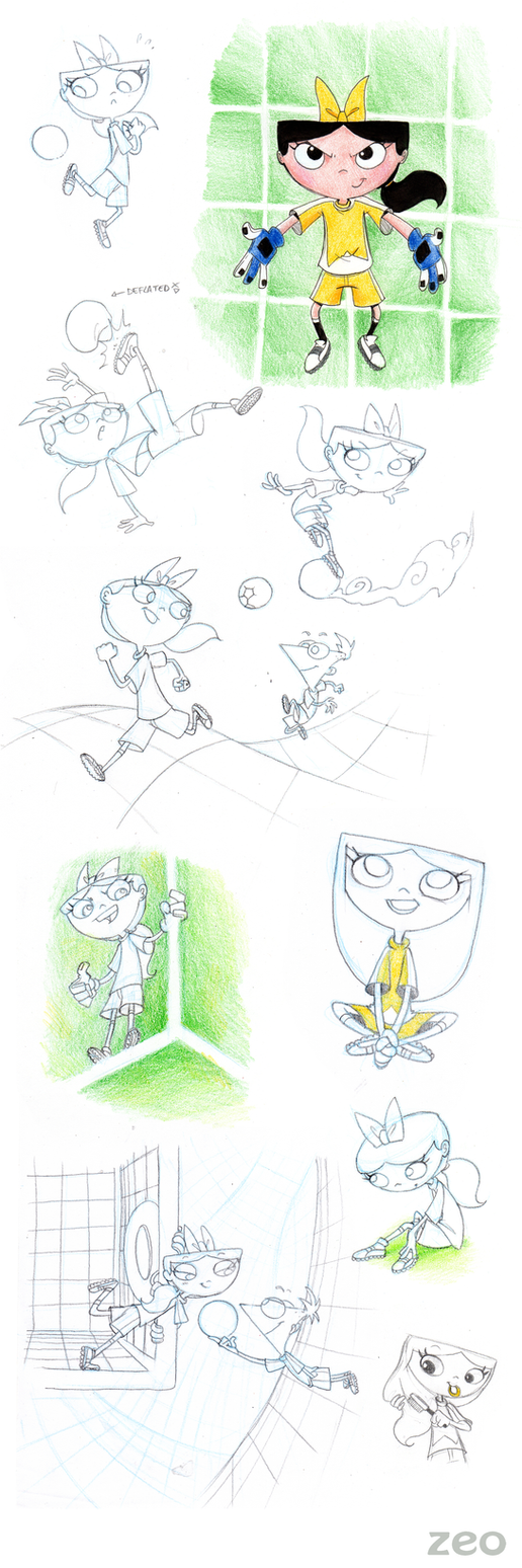 izzy soccer player by theZeo