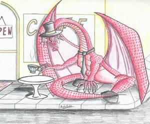Alfred Pendragon - the fancy Dragon