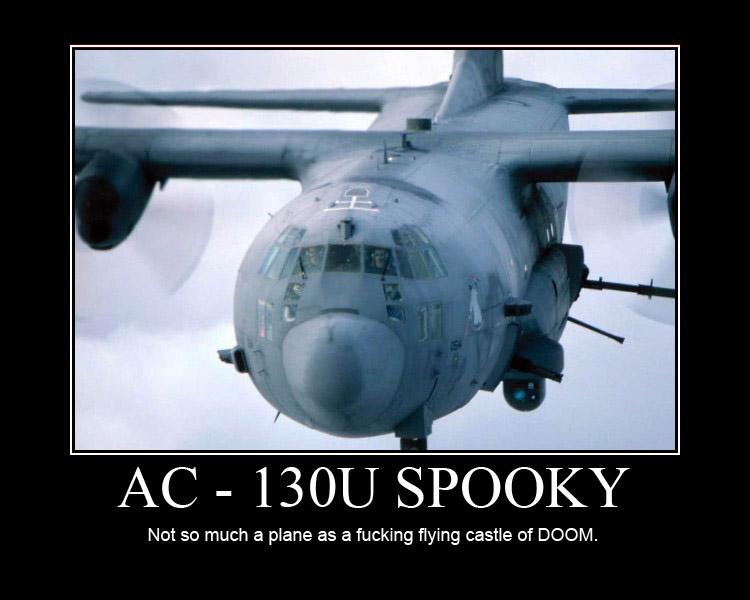 AC-130U Spooky by 666thHeretic