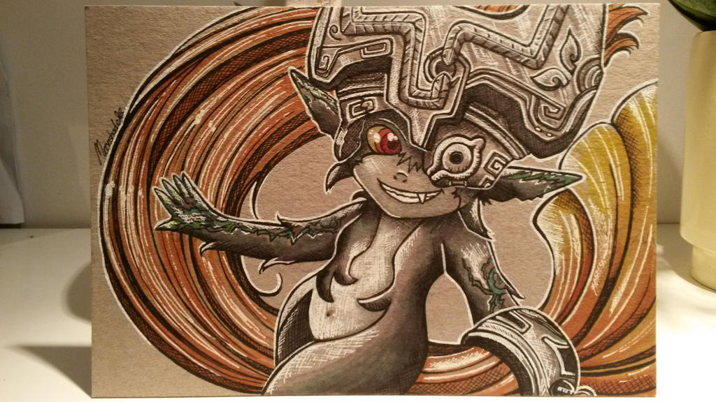 Midna by moonshadebutterfly