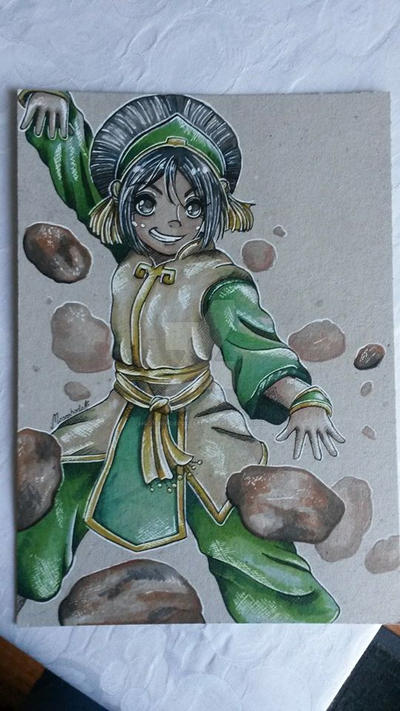 Toph by moonshadebutterfly