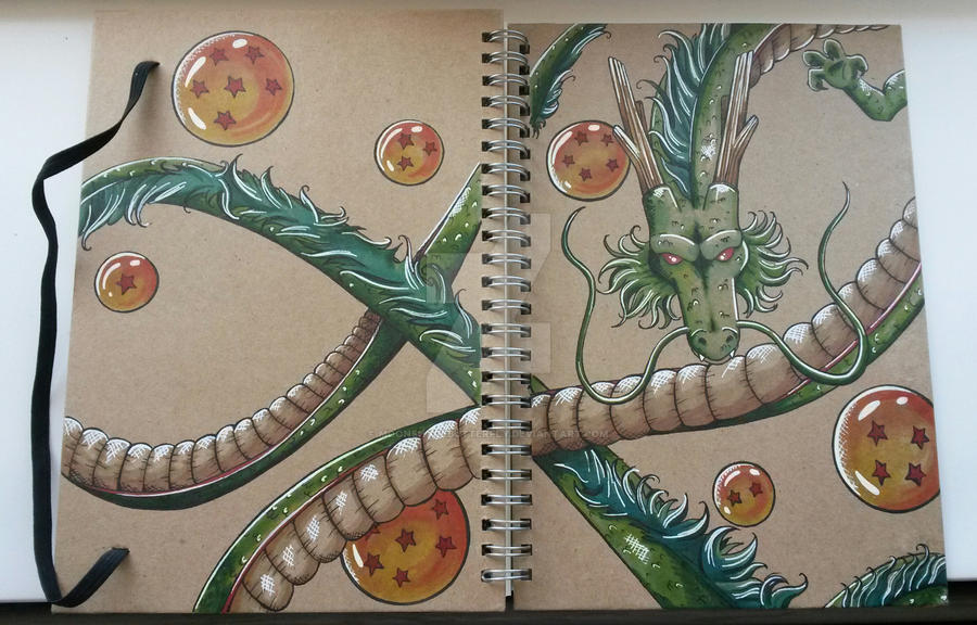 Shenron by moonshadebutterfly