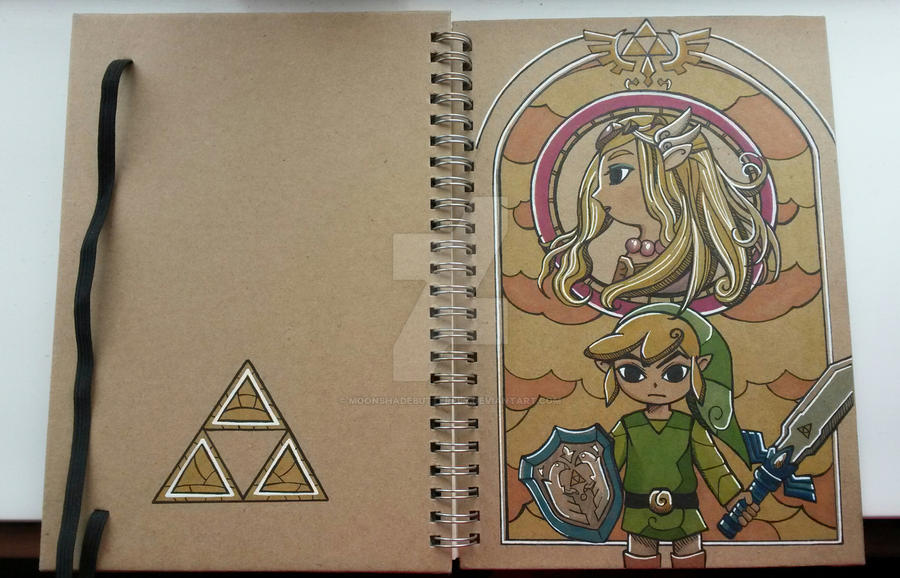 Legend of Zelda by moonshadebutterfly