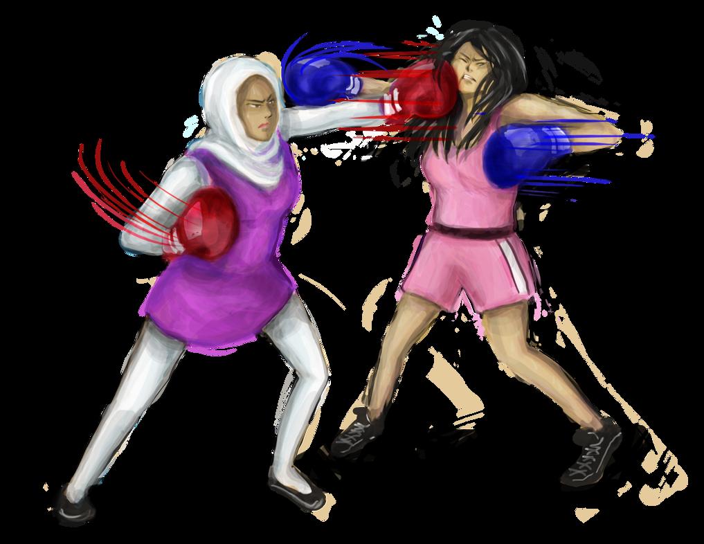 Commission   Nesrine And Manju By Nataliahusada by ballionaire