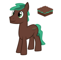 Mint Brownie (OC) by chinchillax