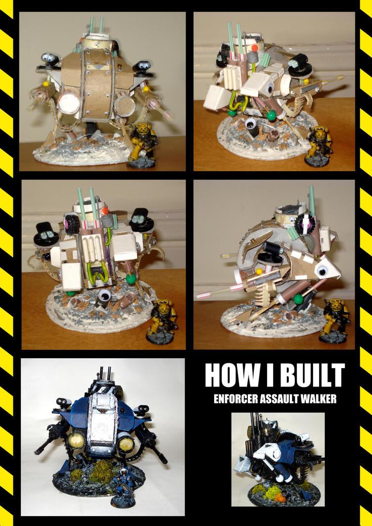 How I Built the Enforcer Assault Walker by JDHerring