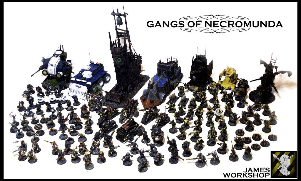 GANGS OF NECROMUNDA by JDHerring