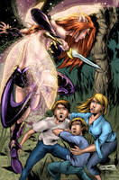Neverland 6 Cover B colors by jembury