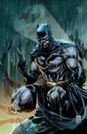 Batman Batsignal Print