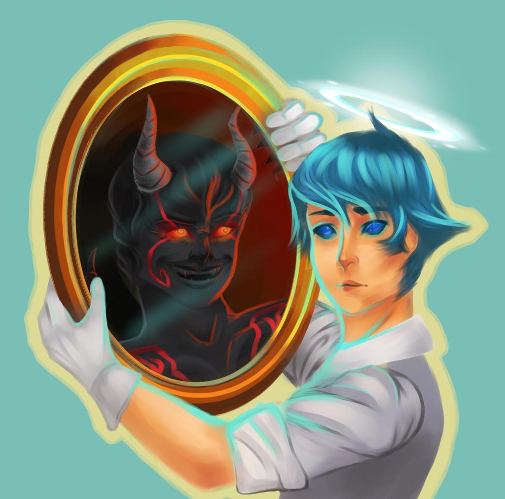 Pretty Lies Ugly Truth by artista-azzurro on deviantART