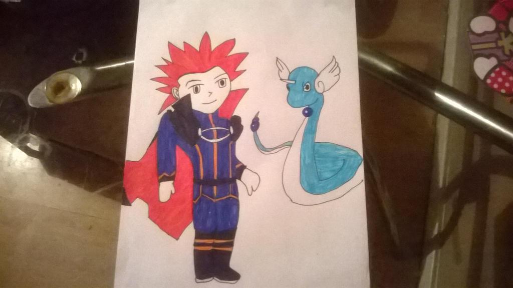 Trade-Pokemon-elite four-Lance for-666markimaru by Samantha-Bartlett
