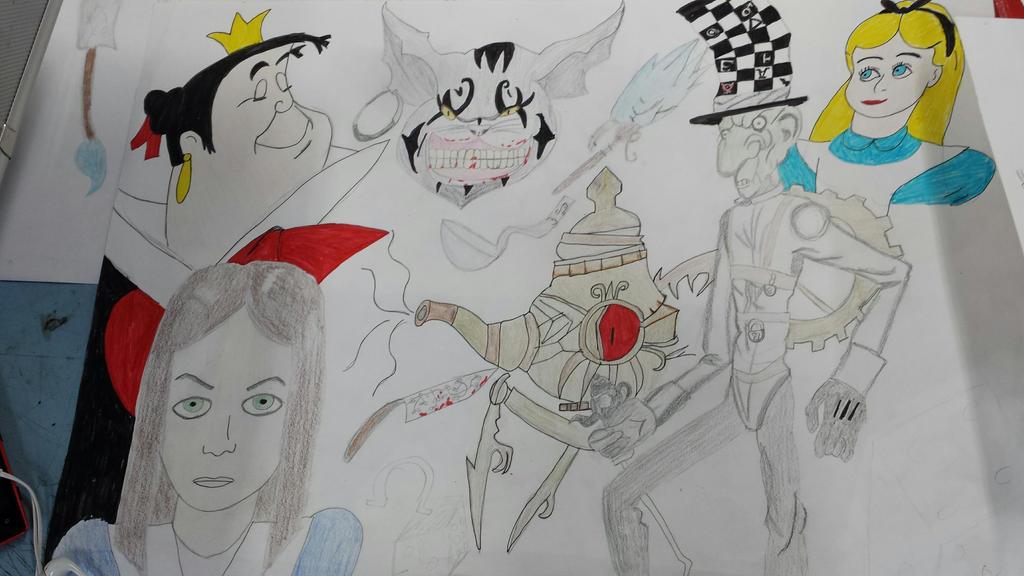 Alice Moodboard by Samantha-Bartlett