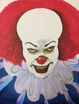 Pennywise Inktober 2017 Day 2