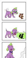Spike vs. Squirrel (Legend of Everfree)
