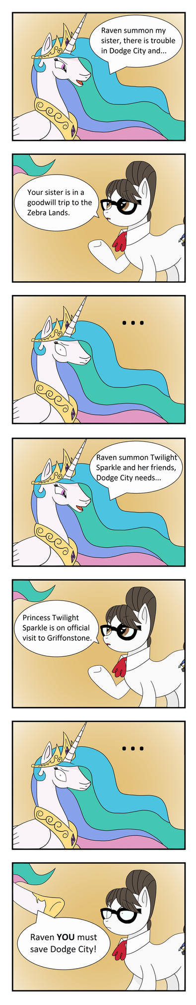 Celestia's Backup Backup Contingency Plan Cake! by Pony4Koma