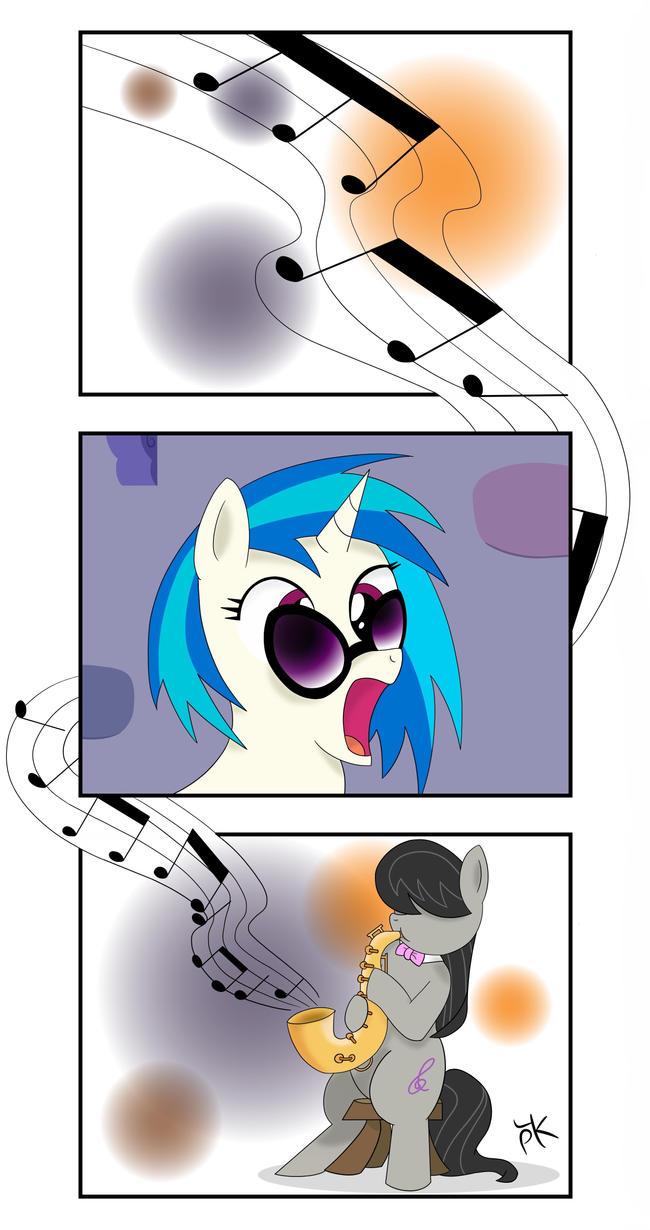 Octavia Bebop Melody by Pony4Koma