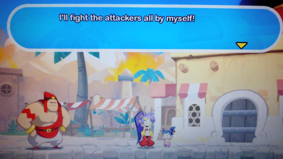 Shantae Half-Genie Hero Scuttle Town NPC by Pony4Koma