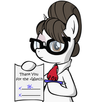 Sign Here! (+Watch) by Pony4Koma