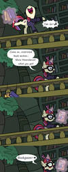 Forbidden Tomes by Pony4Koma