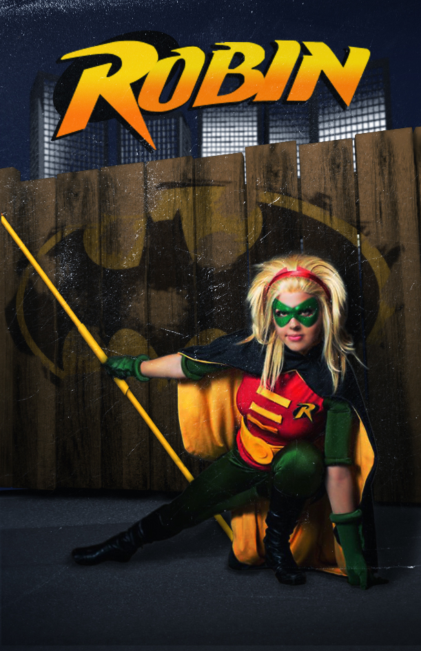 Cover comics of Robin - Stephanie Brown by Nicapol