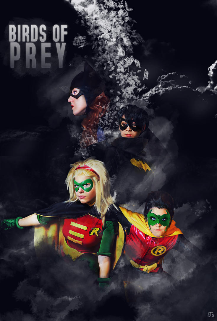 Birds of  Prey (not a real poster) by Nicapol