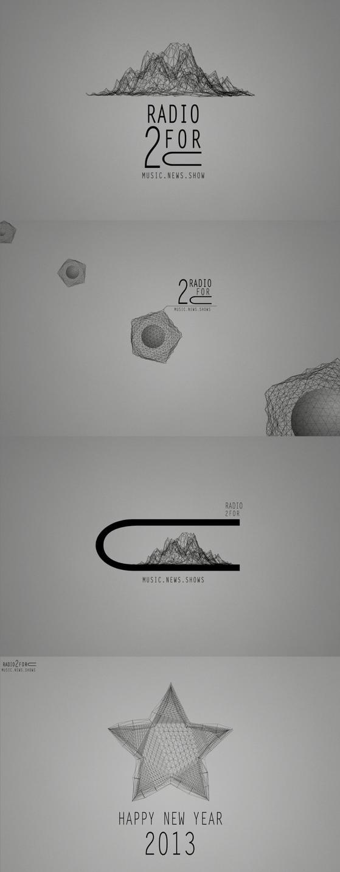 Style development - Logo for internet radio -2forU by Nicapol