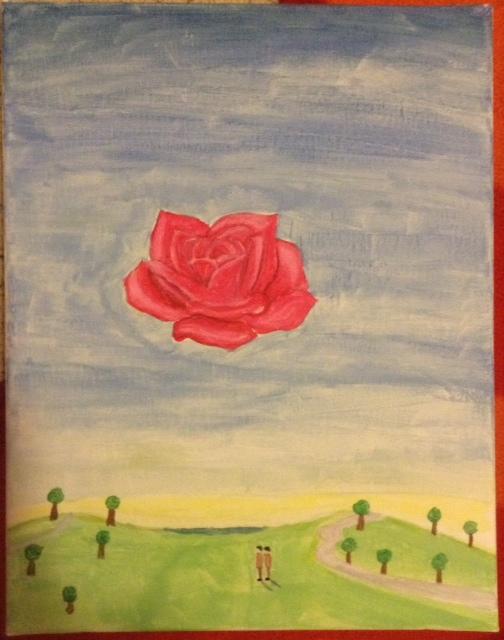 meditative rose originally by salvador dali by finalfantasywarrior on deviantart. Black Bedroom Furniture Sets. Home Design Ideas