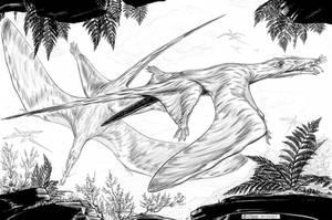 Eudimorphodon-ranzii-A by aspidel