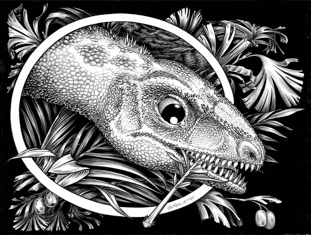 Thecodontosaurus-caducus-h-A by aspidel