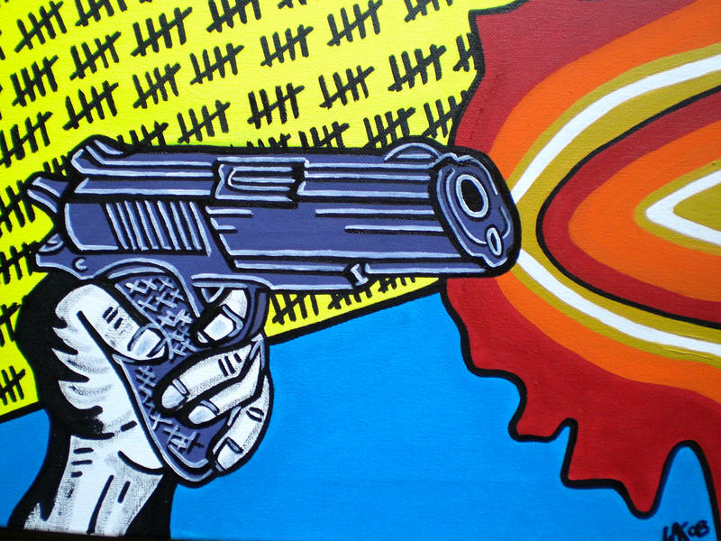HOW MANY MUST DIE by L-A-K-ART