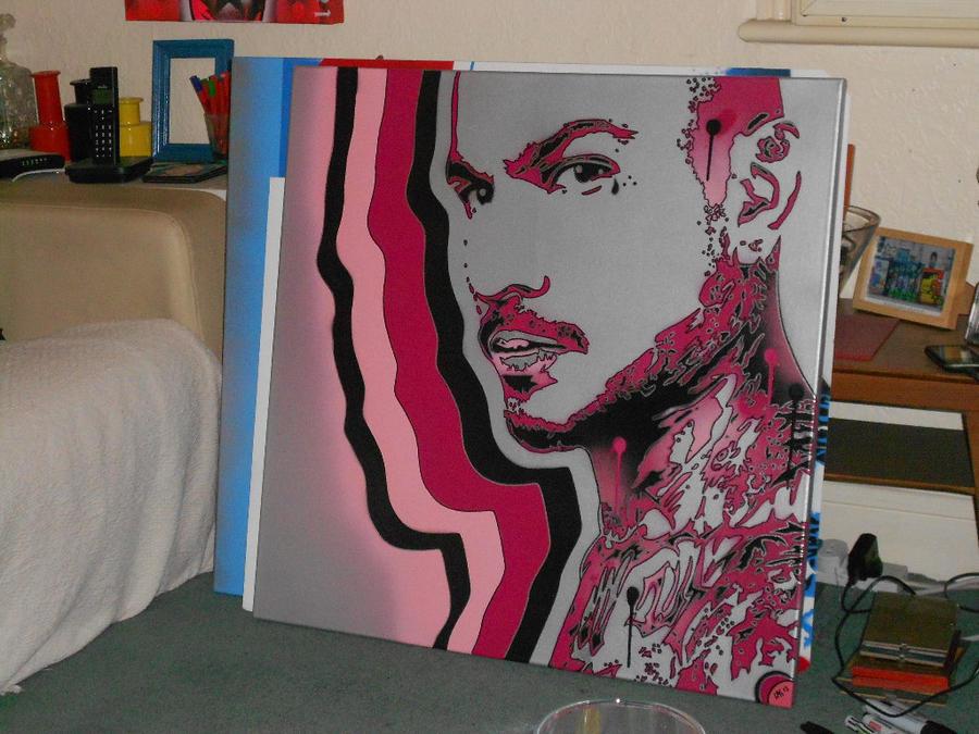 original gangster in pinks by L-A-K-ART