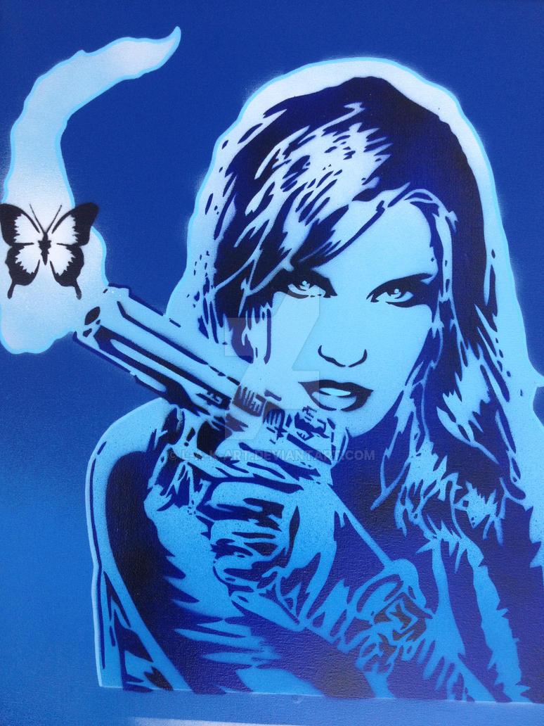pop gun blues by L-A-K-ART
