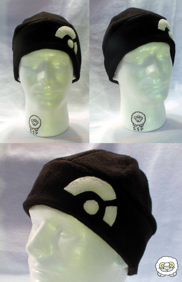 Black Knit Cap by Temmith-Snow