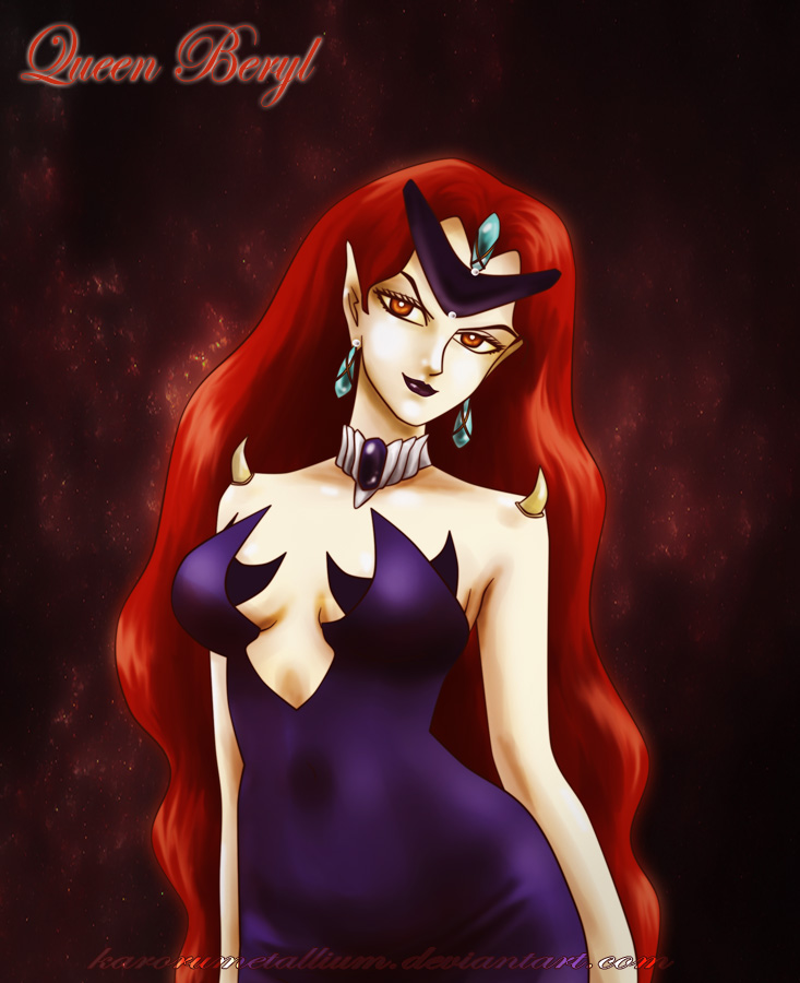 SM - Queen Beryl by KaroruMetallium